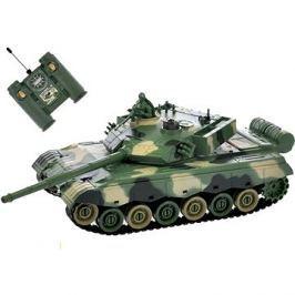 RC tank zeleno-hnědý