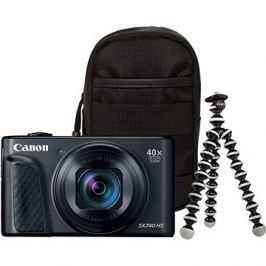 Canon PowerShot SX740 HS černý Travel kit