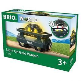 Brio World 33896 Svítící vagón se zlatem Háztartás