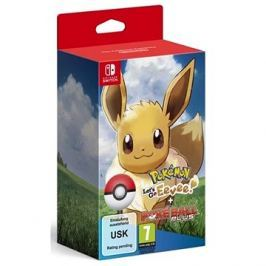 Pokémon Lets Go Eevee! + Poké Ball Plus - Nintendo Switch