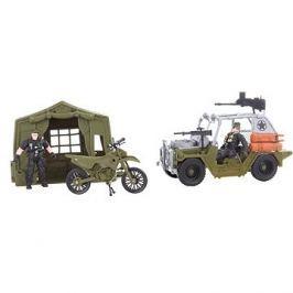 Jeep a motorka