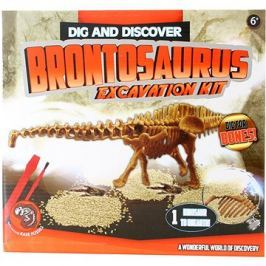 Tesání Dino Brontosaurus Háztartás