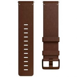 Fitbit Versa Accessory Band, Leather, Cognac, Large