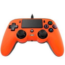 Nacon Wired Compact Controller PS4 - oranžový Kert
