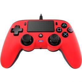 Nacon Wired Compact Controller PS4 - červený Kert