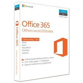 Microsoft Office 365 pro domácnosti Kültér és szabadidő