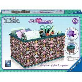 Ravensburger 3D Puzzle 120826 Úložná krabice Girly Girl Mary