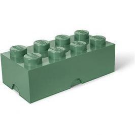LEGO Úložný box 250 x 500 x 180 mm - army zelená Kert
