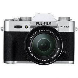 Fujifilm X-T10 Silver + objektiv XC16-50mm HiFi és TV