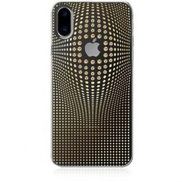 Bling My Thing Warp Deluxe Gold pro iPhone X