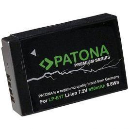 PATONA pro Canon LP-E17 950mAh Li-Ion Premium Hangtechnika