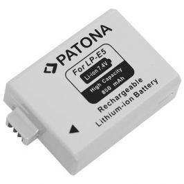 PATONA pro Canon LP-E5 850mAh Li-Ion Háztartás