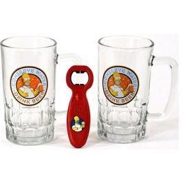 The Simpsons - 2x pivní sklenice