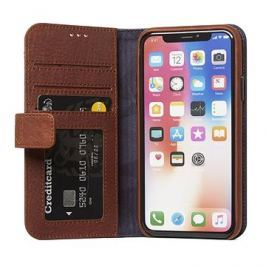 Decoded Leather Impact Protection Wallet Case Brown iPhone X
