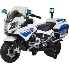 Buddy Toys Elektrická motorka BMW R1200 bílá