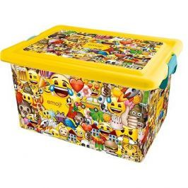 STOR Plastový box 23 L EMOJI