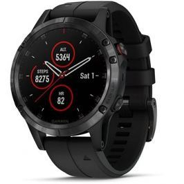 Garmin Fenix 5 Plus Sapphire Black Optic Black Band