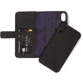 Decoded Leather 2in1 Wallet Black iPhone XR