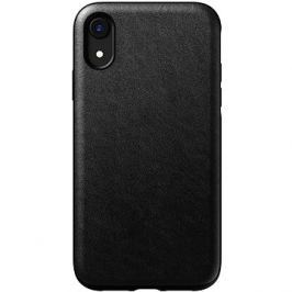 Nomad Rugged Leather Case Black iPhone XR