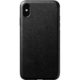 Nomad Rugged Leather Case Black iPhone XS Max