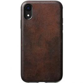 Nomad Rugged Leather Case Brown iPhone XR