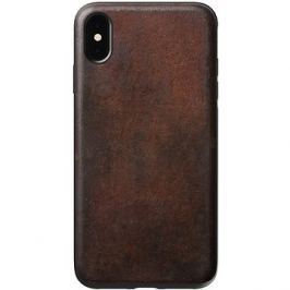 Nomad Rugged Leather Case Brown iPhone XS Max
