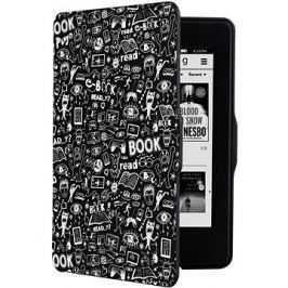 CONNECT IT CEB-1030-BK pro Amazon Kindle Paperwhite 1/2/3, Doodle Black