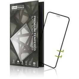 Tempered Glass Protector pro iPhone XS Max - 3D Glass  Černé