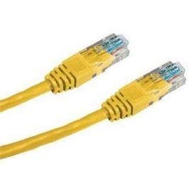 Datacom CAT5E UTP žlutý 7m