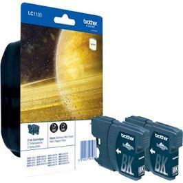 Brother LC-1100 Twin Pack černá