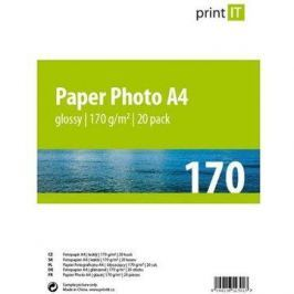 PRINT IT Paper Photo Glossy A4 20 listů