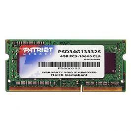 Patriot SO-DIMM 4GB DDR3 1333MHz CL9 Signature Line