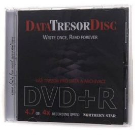 DATA TRESOR DISC DVD+R 1ks v krabičce