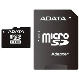 ADATA Micro SDHC 8GB Class 4 + SD adaptér