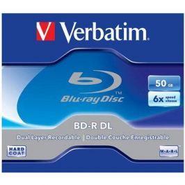 Verbatim BD-R 50GB Dual Layer 6x, 5ks v krabičce