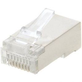 100-pack,Datacom RJ45, CAT5E, STP, 8p8c, stíněný, neskládaný, na drát