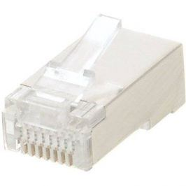 100-pack,Datacom RJ45, CAT5E, STP, 8p8c, stíněný, neskládaný, na licnu (lanko)
