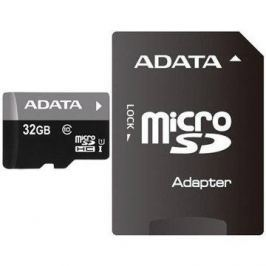 ADATA Premier Micro SDHC 32GB UHS-I + SDHC adaptér Hangtechnika