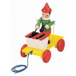 Bino Tahací Pinocchio s xylofonem Háztartás