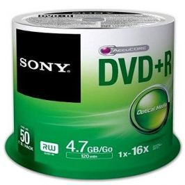 Sony DVD+R 50ks cakebox Háztartás