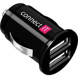 CONNECT IT InCarz Charger Mini černá Háztartás