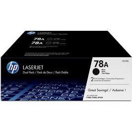 HP CE278AD č. 78A černý dual pack