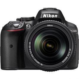 Nikon D5300 + Objektiv 18-140 AF-S VR