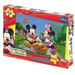 Disney Mickey Mouse na pikniku 66 dílků