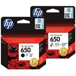 HP CZ101AE černá + CZ102AE č. 650 barevná