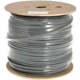 Datacom drát, CAT6, UTP, PVC, 500m/cívka
