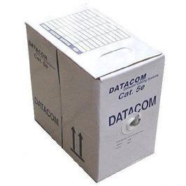 Datacom drát, CAT5E, FTP, PE venkovní, 100m/box