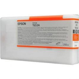 Epson T653A oranžová