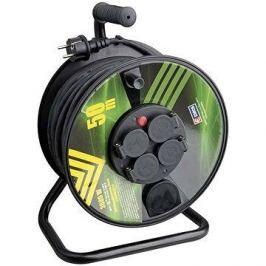 Emos Gumový prodlužovací kabel na bubnu - 4 zásuvky 50m