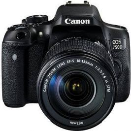 Canon EOS 750D + EF-S 18-135mm IS STM